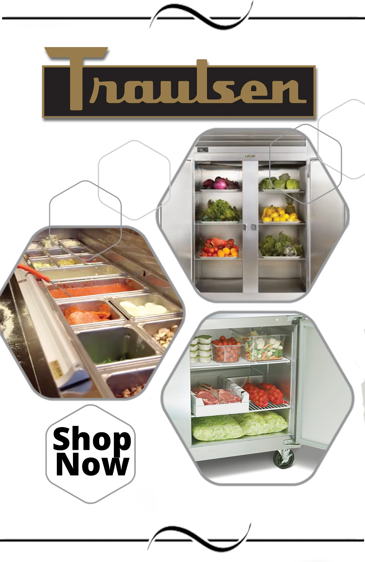 Traulsen is known for their refrigeration line - you won''t be disappointed!