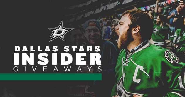 Dallas Stars Insider Giveaways