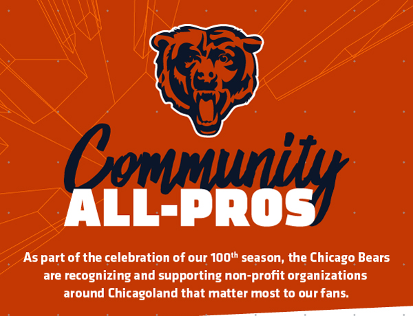 Chicago Bears Community All-Pros