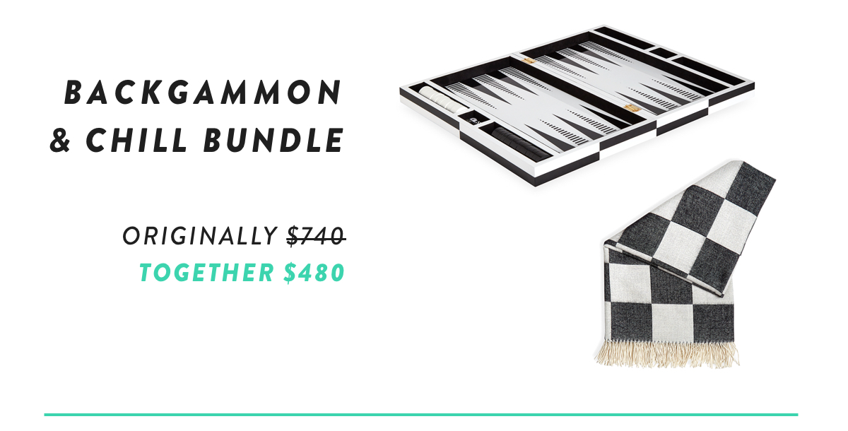 Backgammon with Throw Bundle | Shop Now