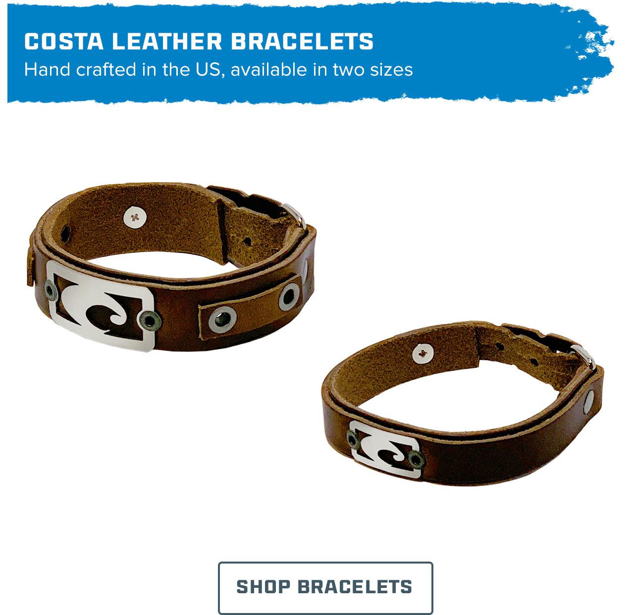 Costa Leather Bracelets