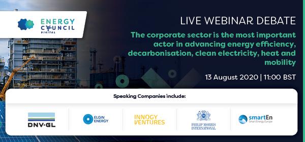 corporate sector webinar debate