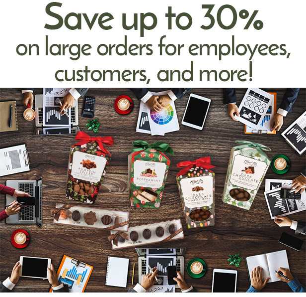 Business & Volume Discounts on Premium Chocolate