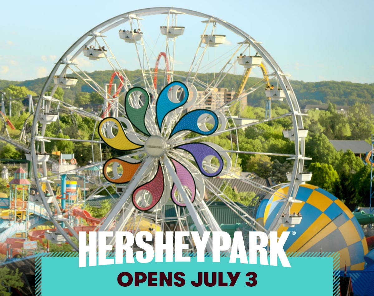Hersheypark Opens July 3