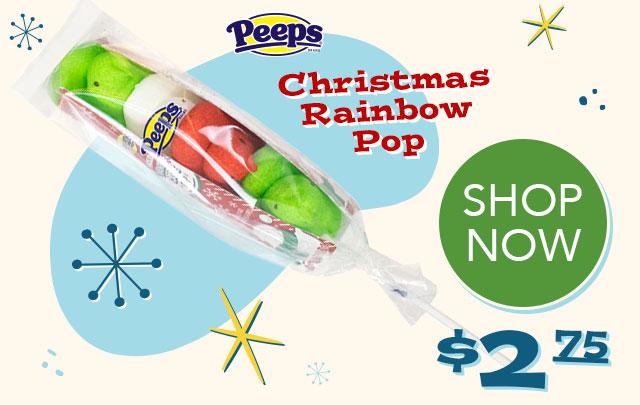PEEPS Christmas Raibow Pop - $2.75 - SHOP NOW
