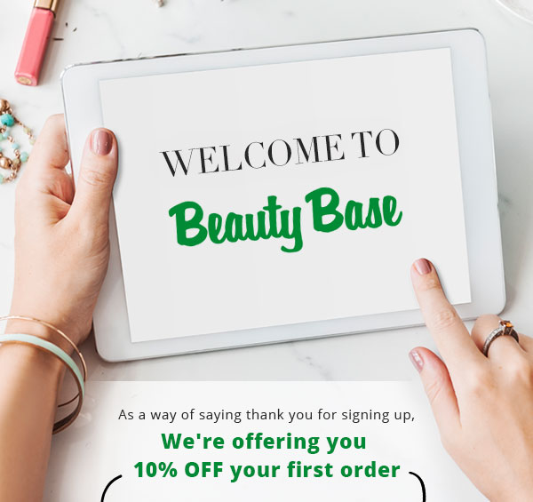 Welcome to Beauty Base... Here''s 10% off your first order