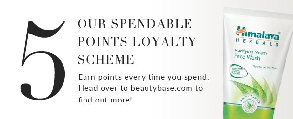 We hav a spendable points loyalty scheme