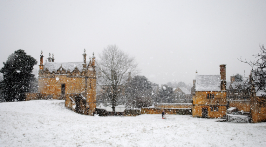 Banqueting Houses in snow