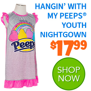 PEEPS Hangin'' wiht my PEEPS Nightgown