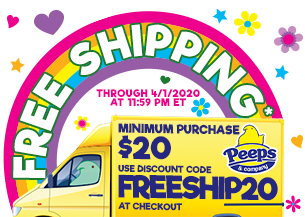 FREE SHIPPING - minimum $20 order and use discount code FREESHIP20