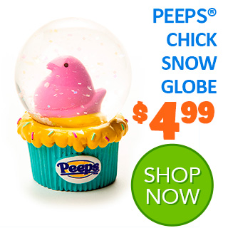 PEEPS Chick Snow Globe
