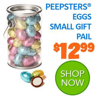 PEEPSTERS EGGS SMALL GIFT PAIL