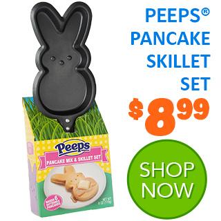 PEEPS Pancake Skillet Set