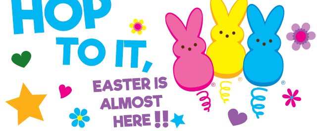 HOP TO IT - Easter is almost here!