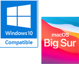 Big Sur Mac OS & Windows