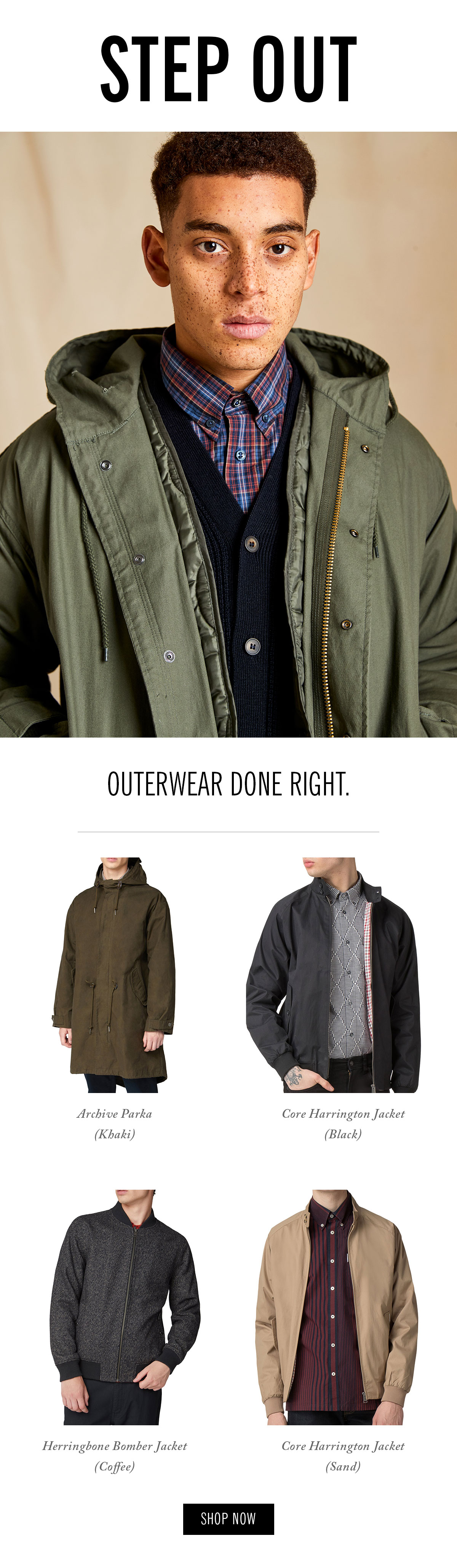 Outerwear done right | Coats and jackets