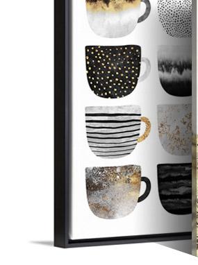Pretty Coffee Cups 3 by Elisabeth Fredriksson