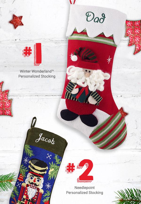 Winter Wonderland, Needlepoint Stocking