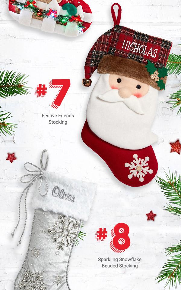 Festive Friends Stockings