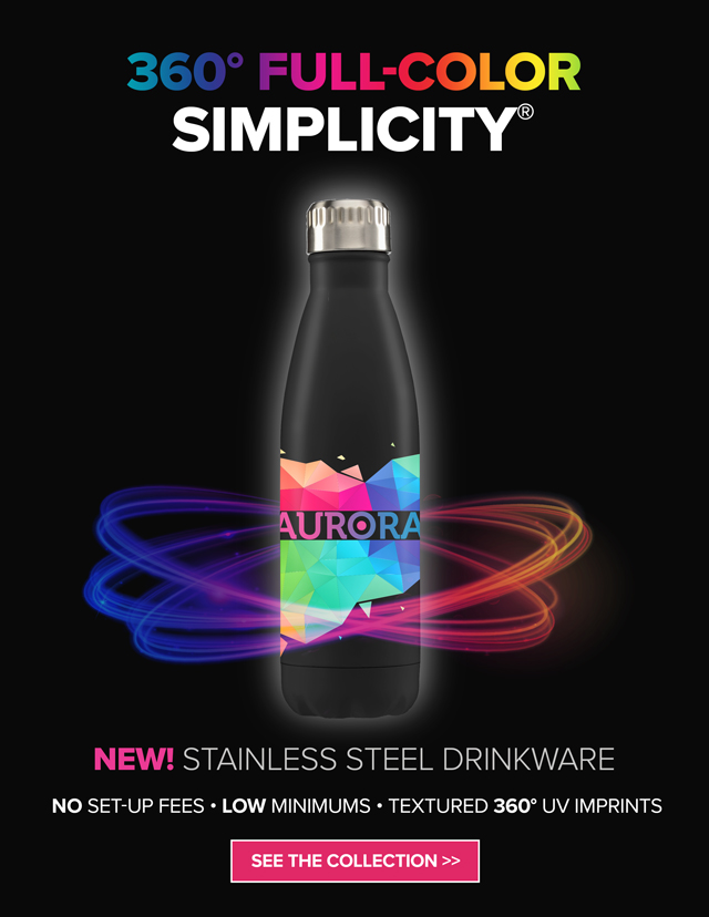 New Stainless Steel Drinkware