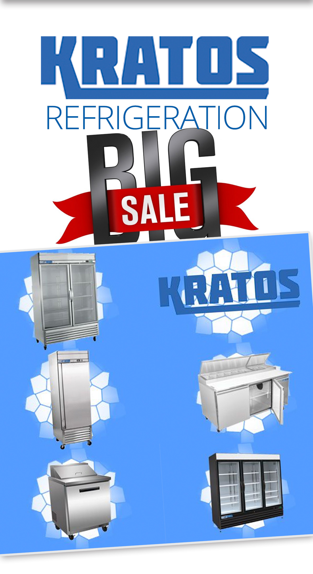 Kratos Refrigeration Sale - Shop Today!