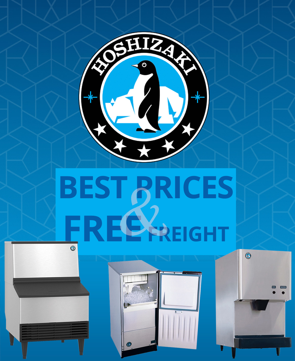 Hoshizaki Ice now at their best prices and free shipping!