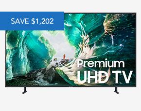 Samsung 82 RU8000 Titan Gray 4K UHD Smart HDTV