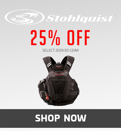 Stohlquist 25% Off Select 2019/20 Gear