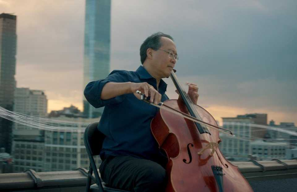 Classical musician Yo-Yo Ma. (Photo courtesy of Shoemaker Studios)