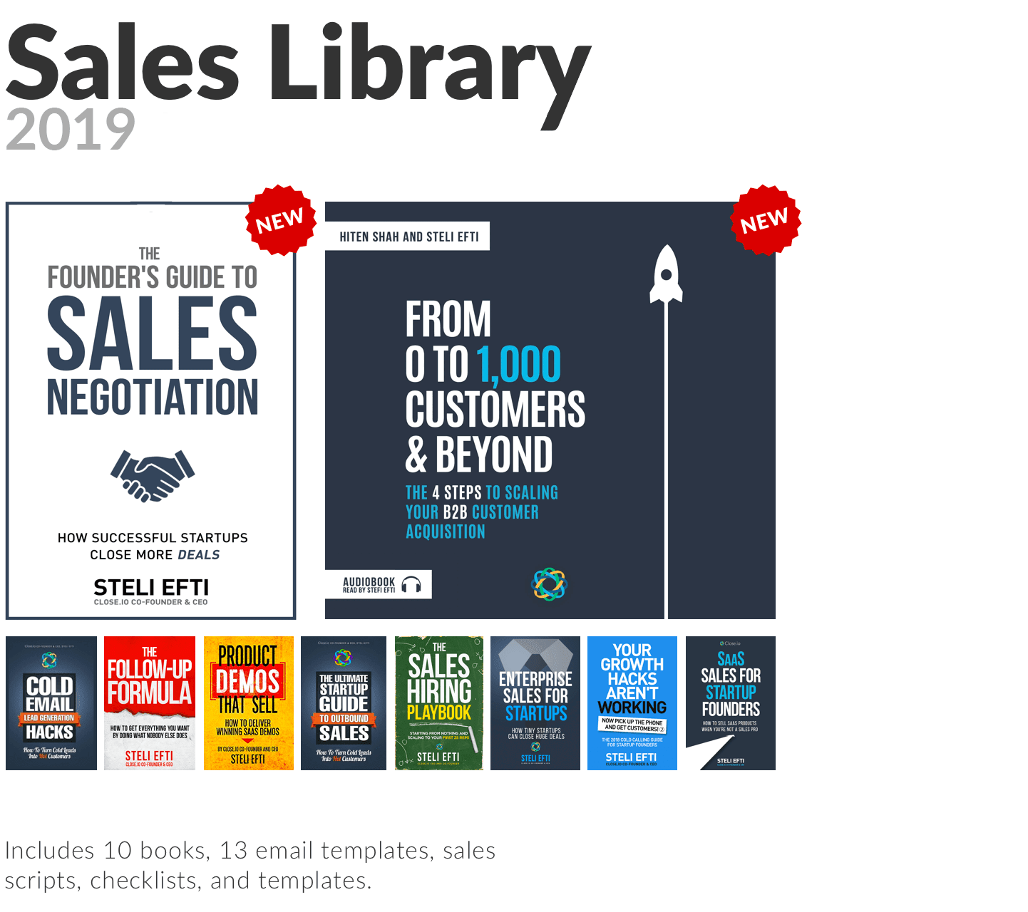 The Sales Library