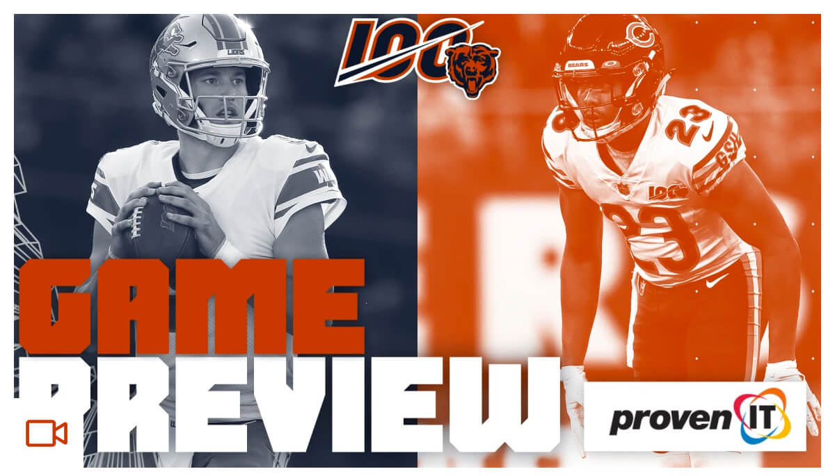 Game Preview | Bears vs Lions