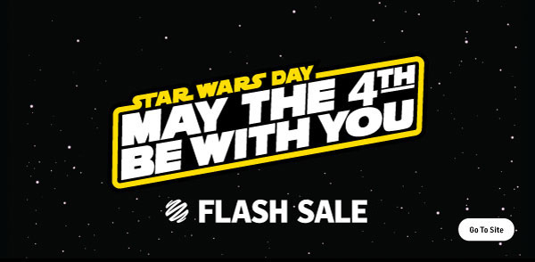 May the 4th Sale