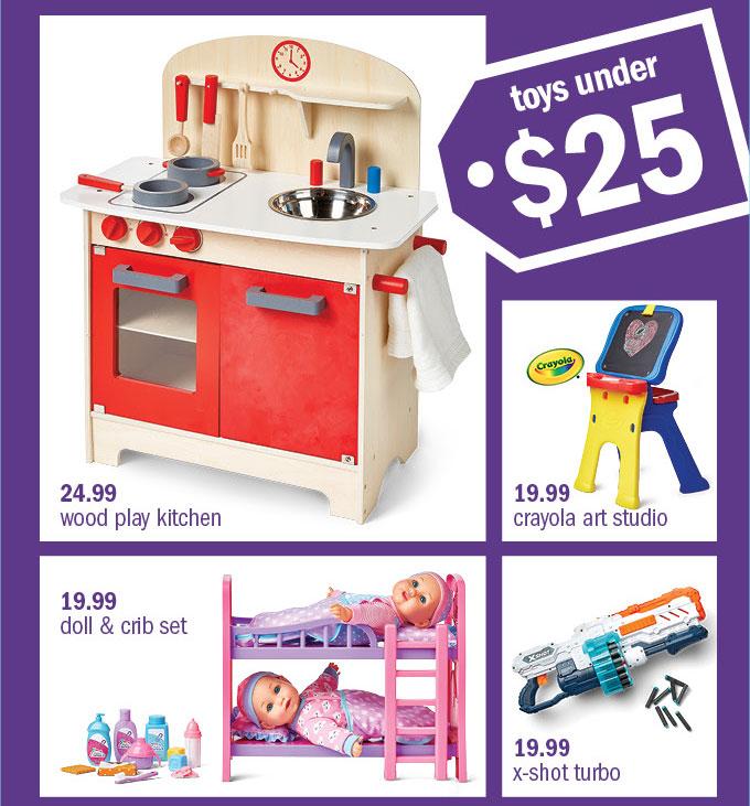 Toys under . $25