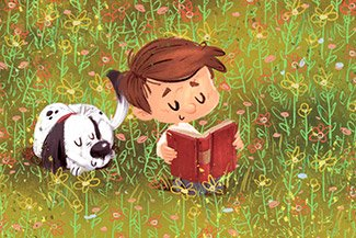 Can dogs encourage kids to read?
