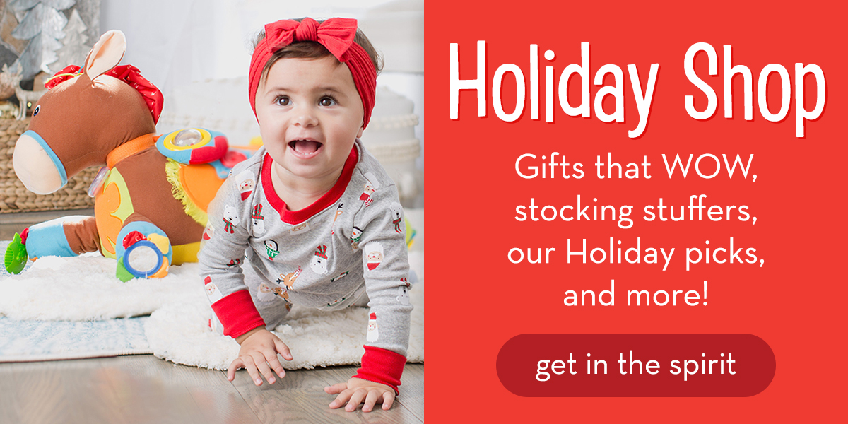 Holiday Shop - Gifts that WOW, stocking stuffers, our Holiday picks, and more! Get in the spirit.
