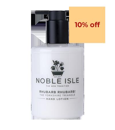 Rhubarb Rhubarb! Hand Lotion | Noble Isle