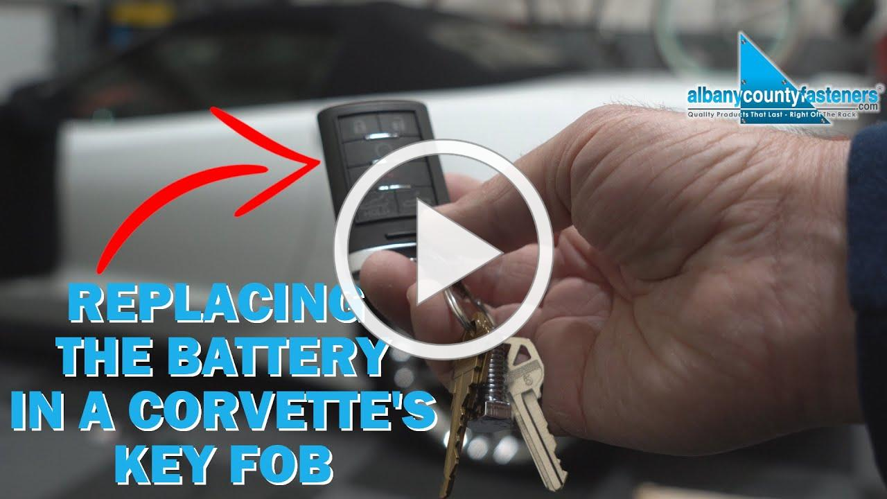 How to Replace The Battery In a Car's Key Fob | Corvette C7, GM, Chevy
