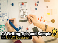 Resume & CV Sample for UI/UX Designer