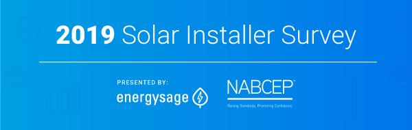 EnergySage Installer Survey