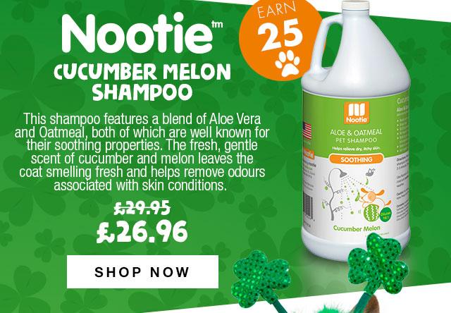 10% Off Nootie Cucumber Melon Shampoo