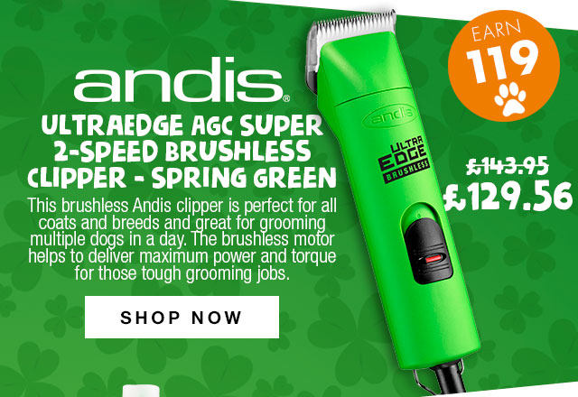 10% Off Andis AGC Brushless Clipper Spring Green