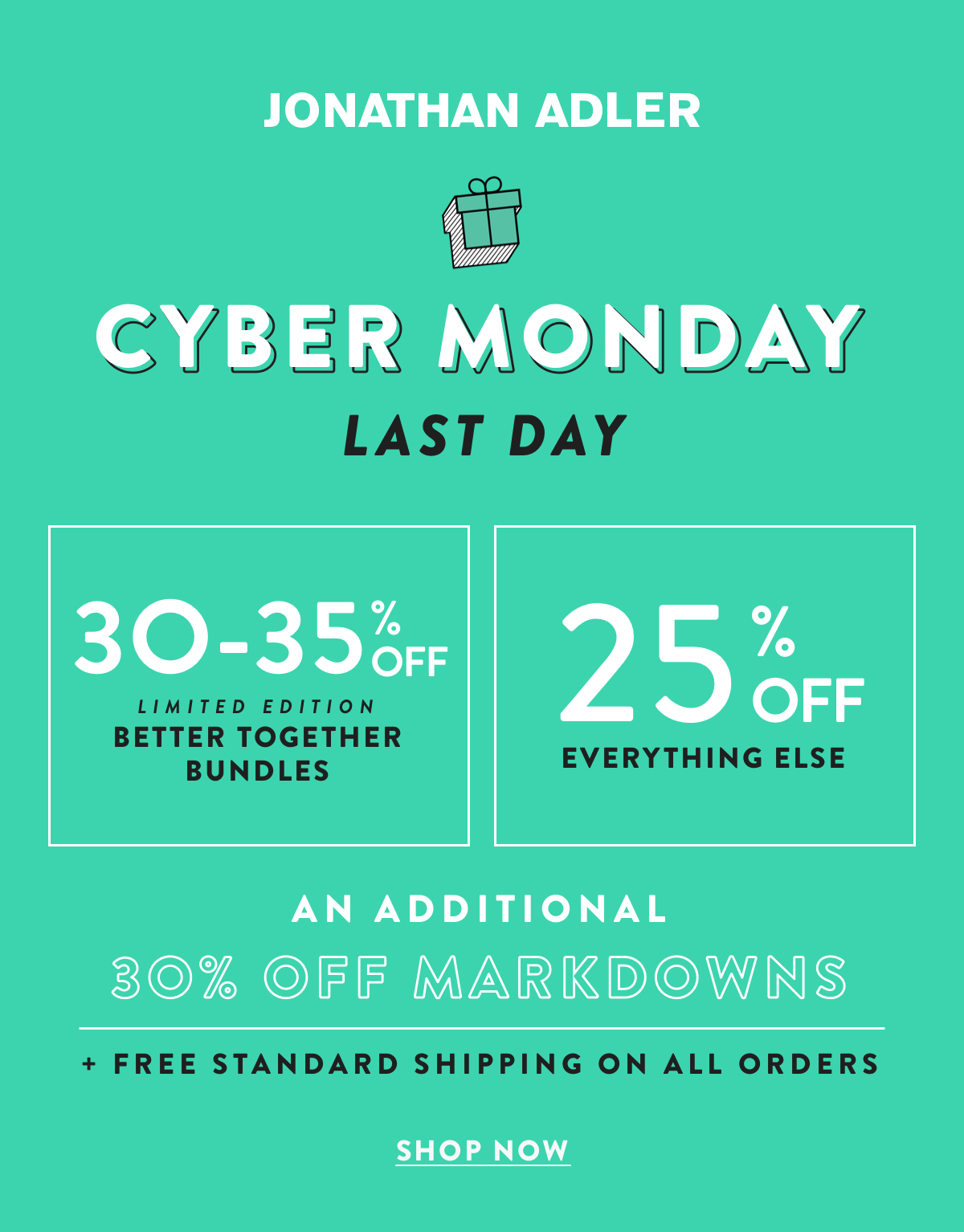 Cyber Monday Last Day | Shop Now