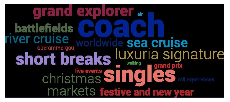 grand explorer, battlefields, coach, river cruises, worldwide, sea cruise, luxuria signature...