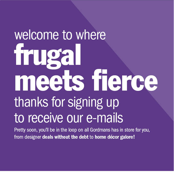 welcome to where frugal meets fierce