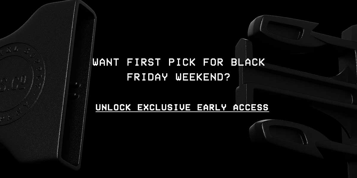 Want first pick for Black Friday Weekend? Get exclusive access.