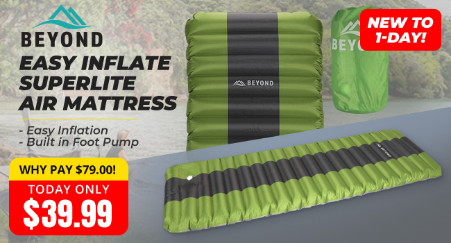 Beyond Easy Inflate Air Mattress