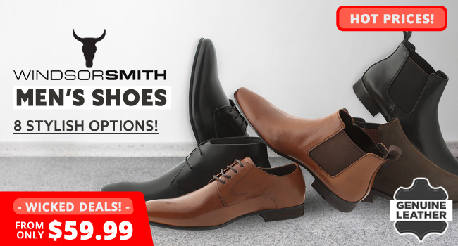 Windsor Smith Mens Shoes