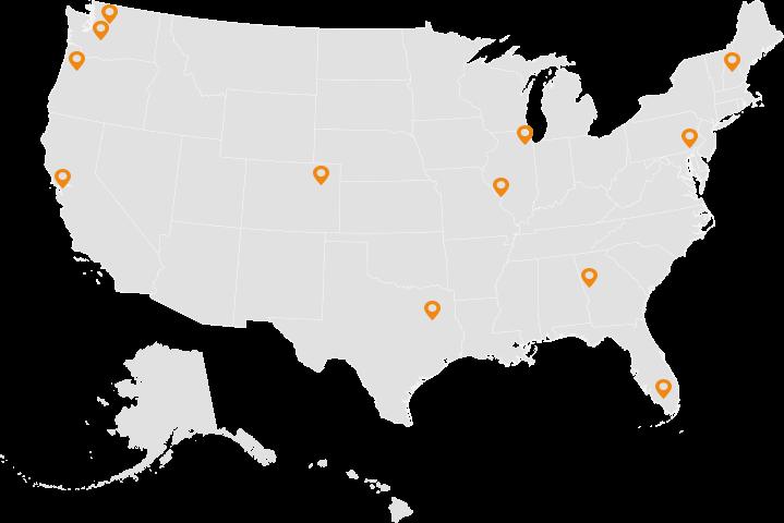 Jon-Don Location Map