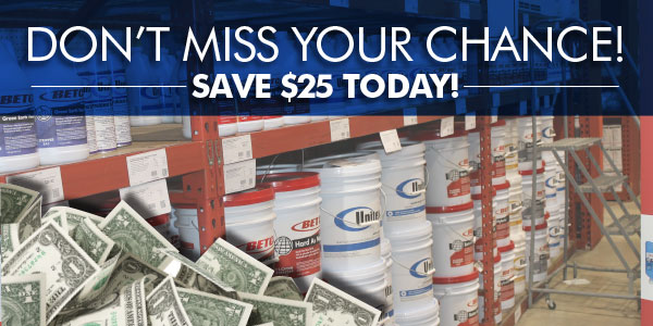 Don't Miss Your Chance! SAVE $25 TODAY!