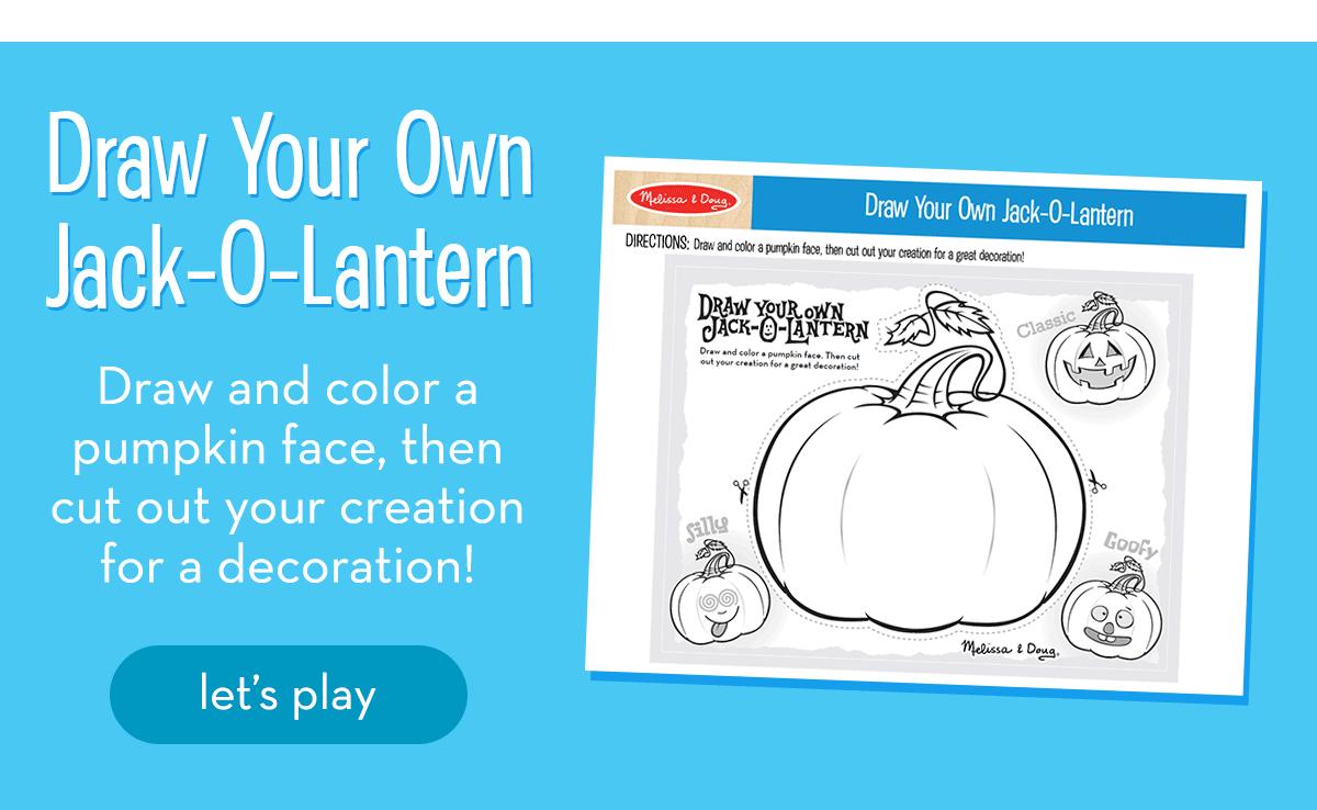 Draw Your Own JackOLantern